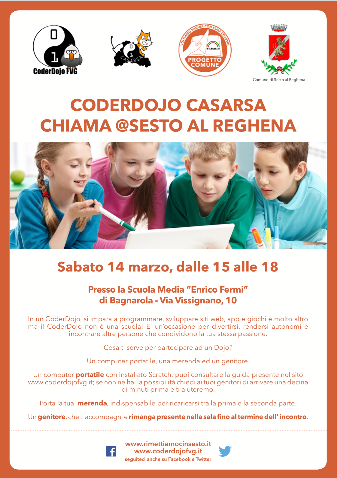 CoderDojo: pronti, via!